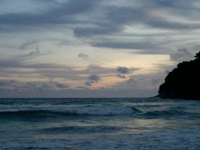 Sunset View of Phi Phi Island Phuket Thailand