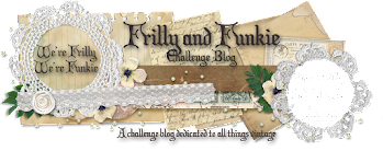 Frilly and Funkie Challenge - haunted halloween