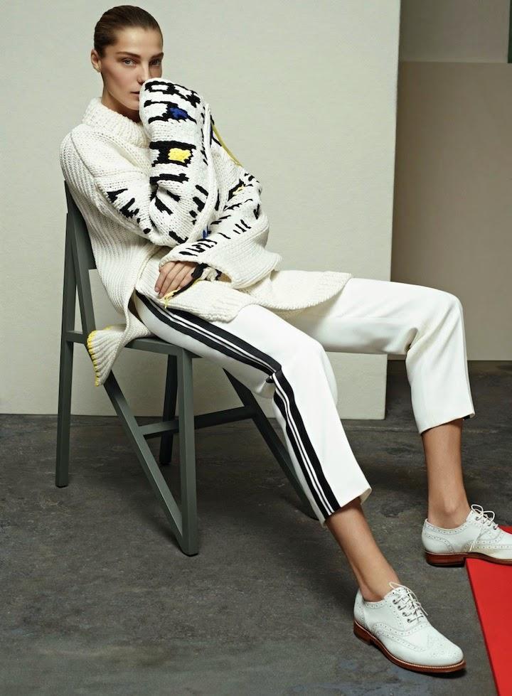 Daria Werbowy By Karim Sadli For Vogue April 2014