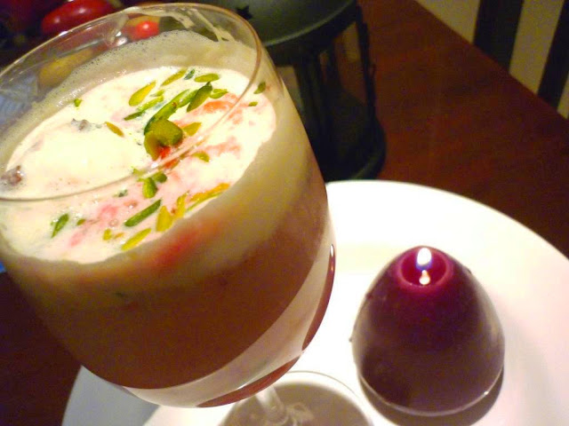Indian chilled Dessert Falooda