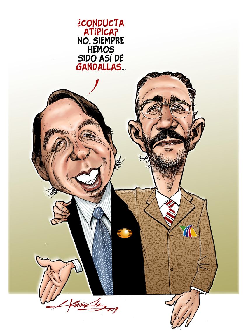 Caricaturas politicas duopolio mafioso televisa tv azteca for Espectaculos recientes de televisa