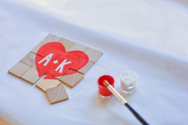 Sevgiliye El Yapımı Ahşap Puzzle Sürprizi Adım 6