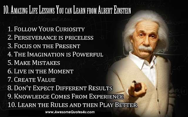 10 Amazin Life Lessons You Can Learn From Albert Einstein Pic