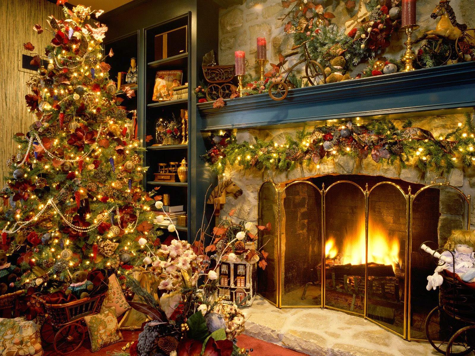 imagen de arboles de  navidad de coloridos