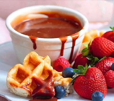 Wicked chocolate fondue