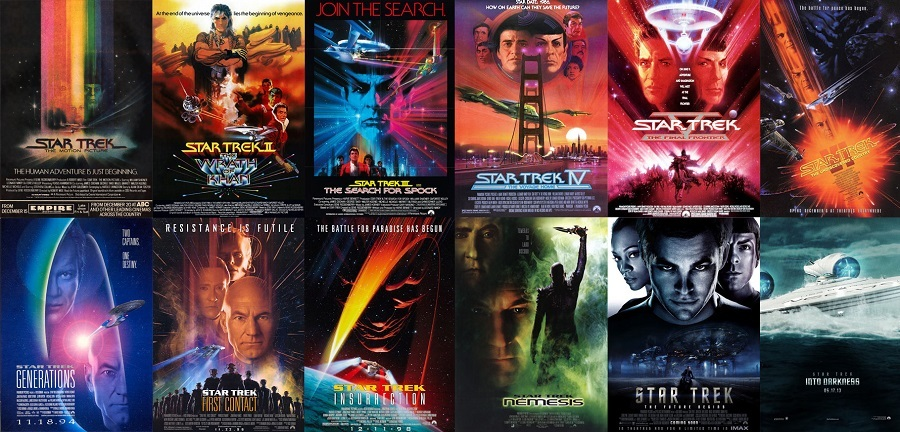 Jornada nas Estrelas - Star Trek Coleção Completa Torrent 1979 720p Bluray HD
