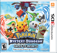pok%C3%A9mon mystery dungeon gates to infinity box art ONM Review   Pokémon Mystery Dungeon: Gates to Infinity (3DS)