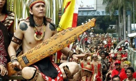 Majelis Adat Dayak Protes Komposisi Kabinet Jokowi-JK