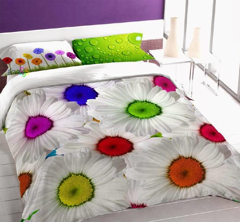 Funda nórdica Snap Margarita cama 150 cm