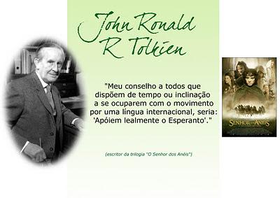Tolkien e o Esperanto
