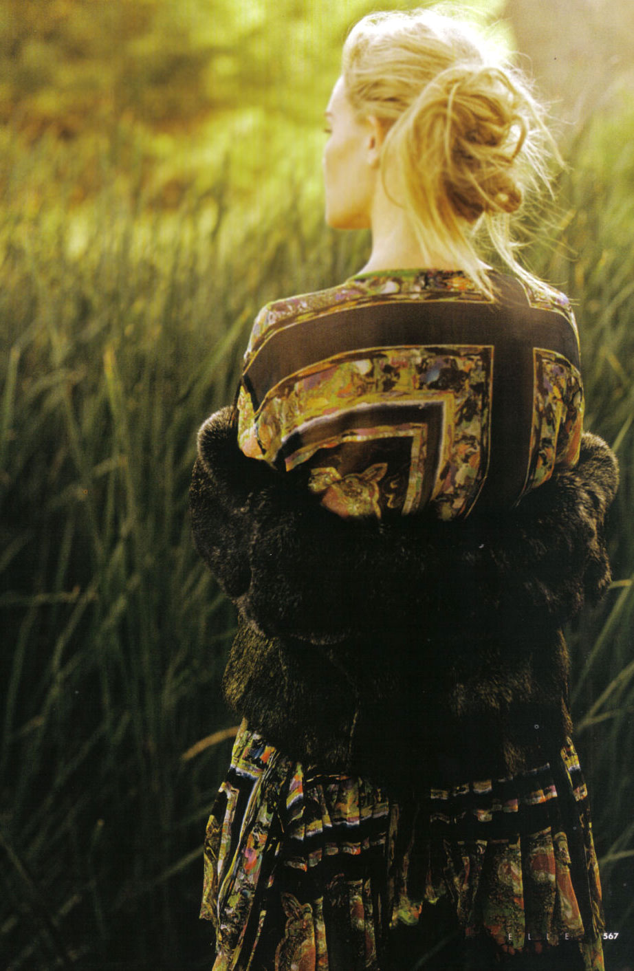 Kate Bosworth in Elle Italia October 2008 (photography: Matt Jones)