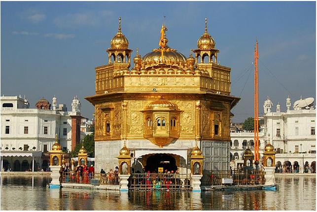 Golden Temple in Amritsar, Punjab