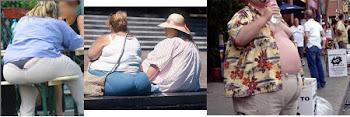 Xô Obesidade.
