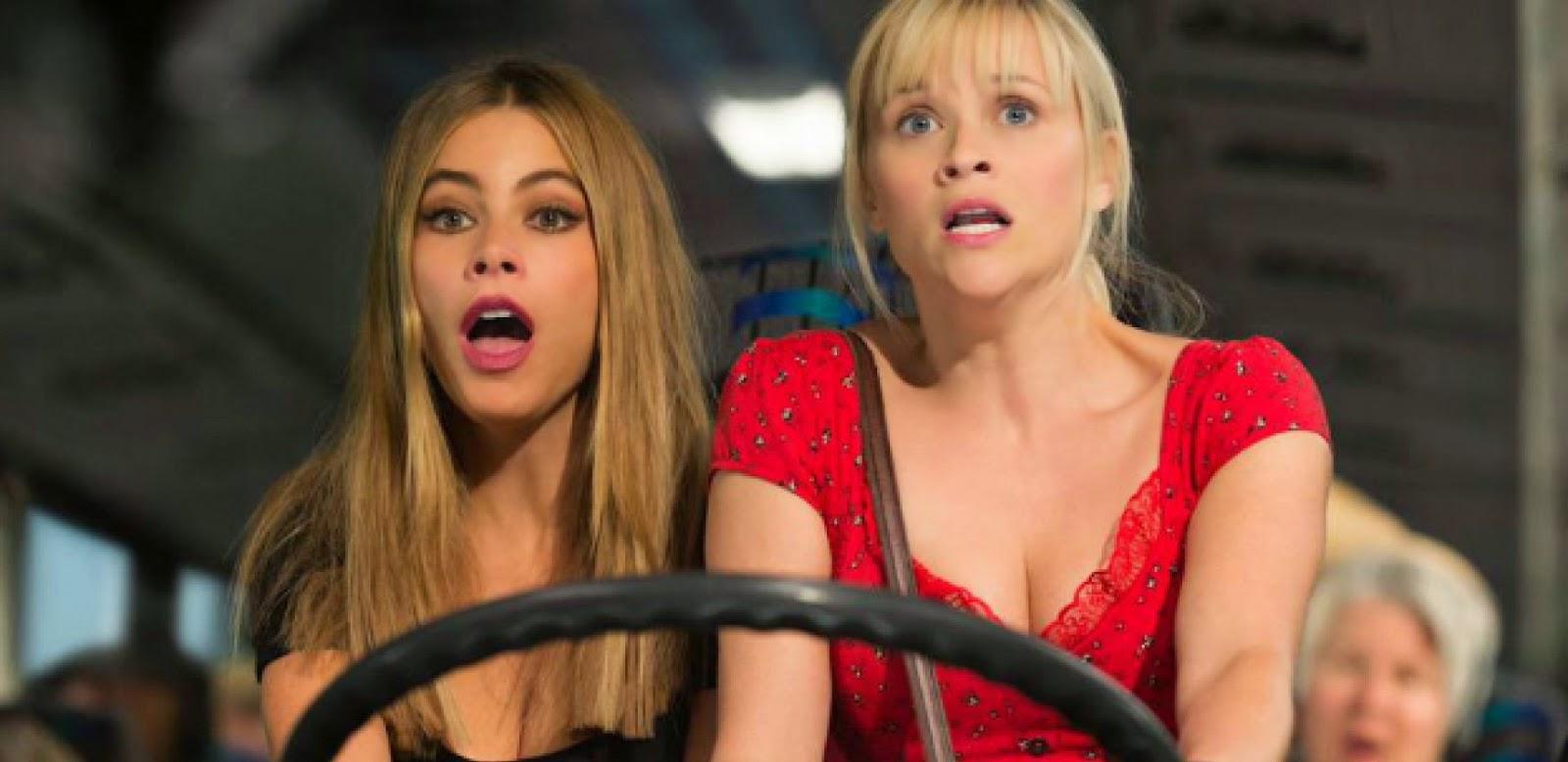 Reese Witherspoon  e Sofia Vergara no trailer legendado da comédia Belas e Perseguidas