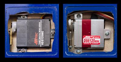 Hitec 5125 versus MKS 6125 Mini