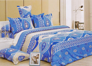 Sprei Kendra Signature Blue Eyes