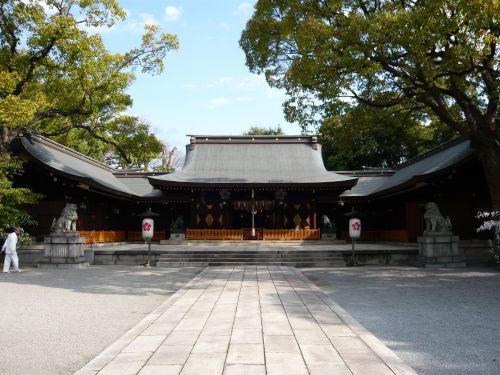 兵庫縣姫路護國神社(白鷺宮)拝殿
