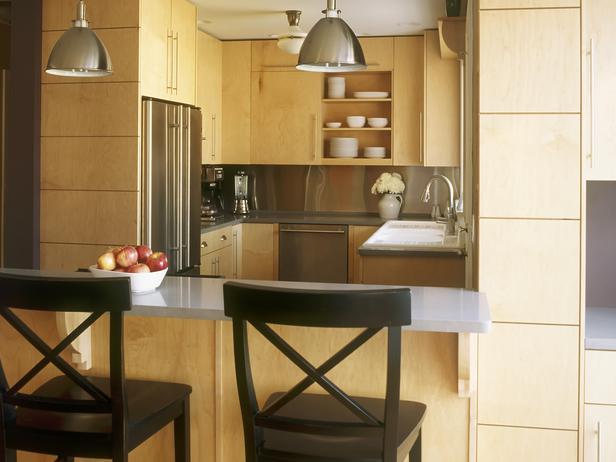 HGTV Kitchen Maple Cabinets