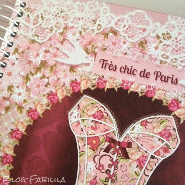 Caderno Credeal Feminino Romântica