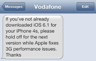 'Do not download update' warning for iPhone 4S users from Vodaphone