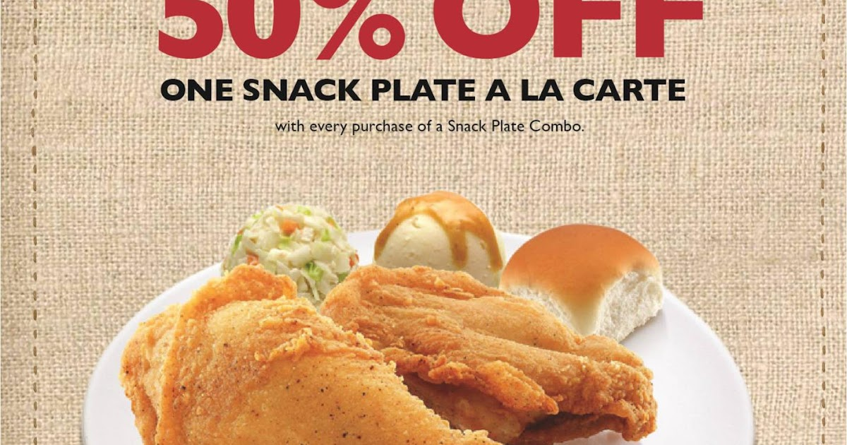 sc 1 st  Sales nonstop & KFC Promotion : Snack Plate a la carte @ Half Price | Sales nonstop