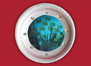 paper plate porthole craft