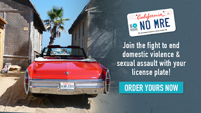 Joint the fight to end domestic violence and sexual assault with your license plate! Order yours now!