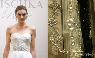 crystal sash bridal belt-Badgley Mischka