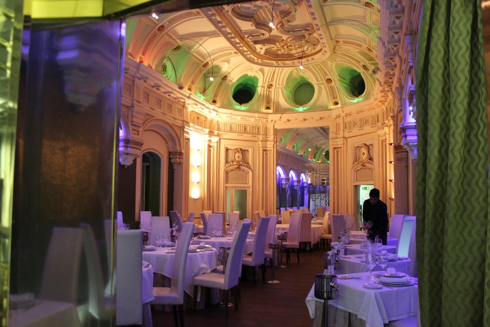 Restaurante La Capilla de la Bolsa…..Gastronomía, Historia, Arte, Arquitectura, Finanzas….