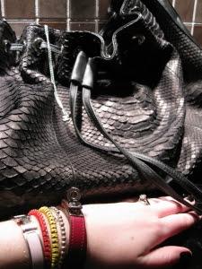 Chanel Black Enamel Ring