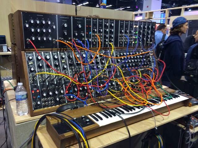 Moog Modular synth image