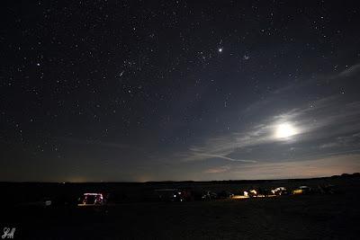 Le site d'observation du groupe astronomique de Salamanque.