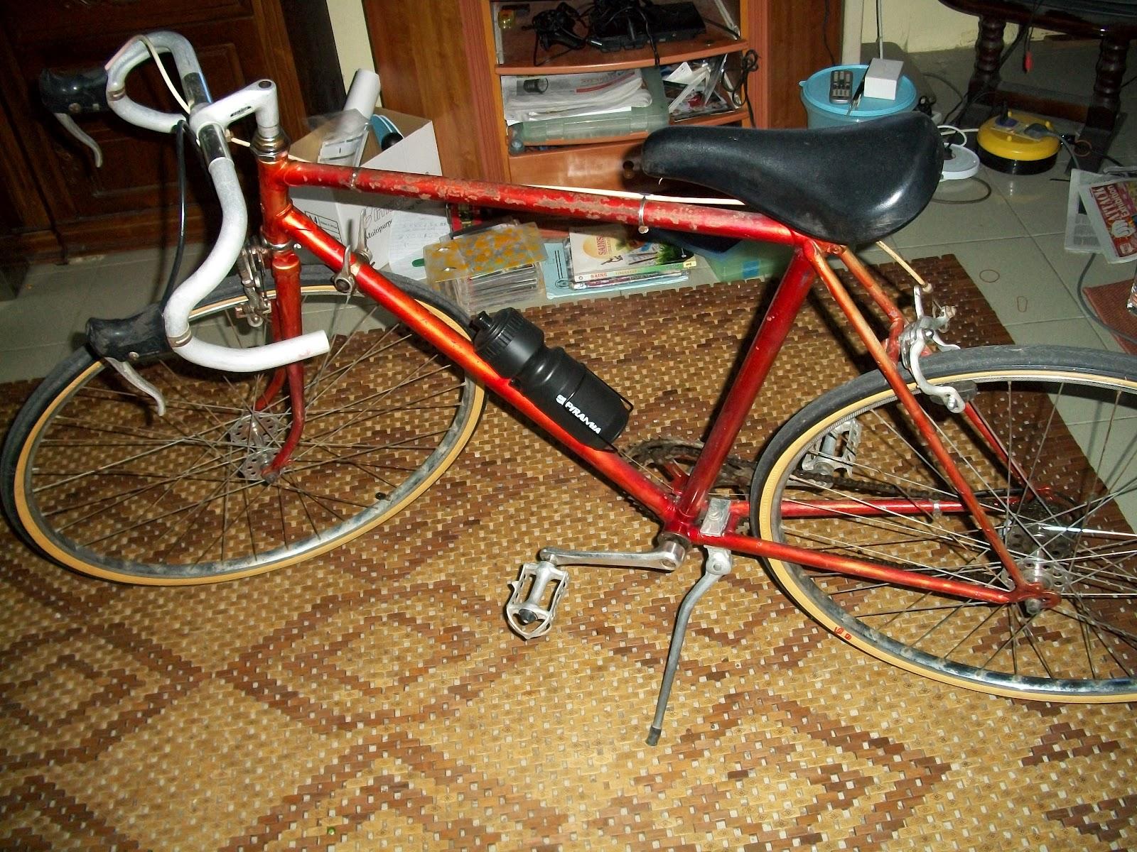 Vintage raleigh bicycle repair