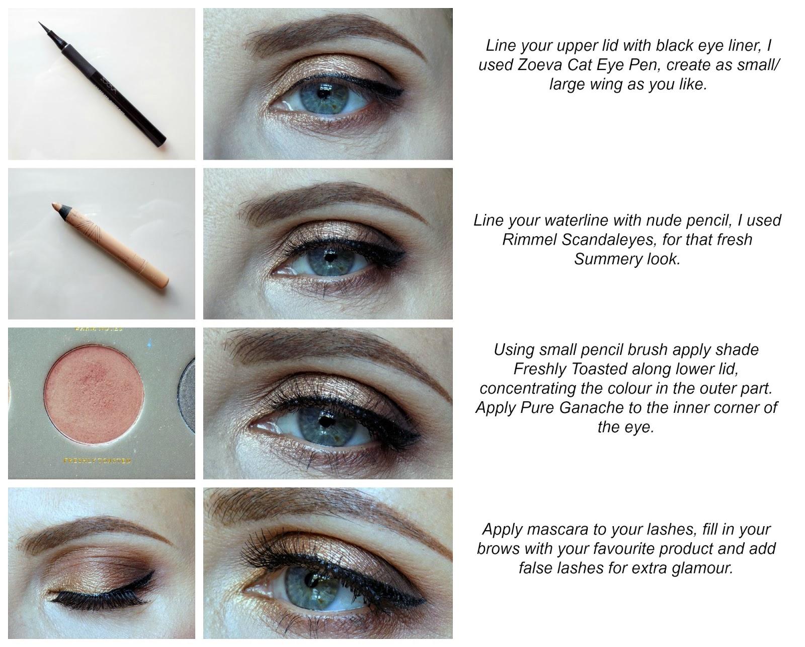 Bronze eyes tutorial