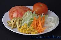 ingredientes del kebap casero
