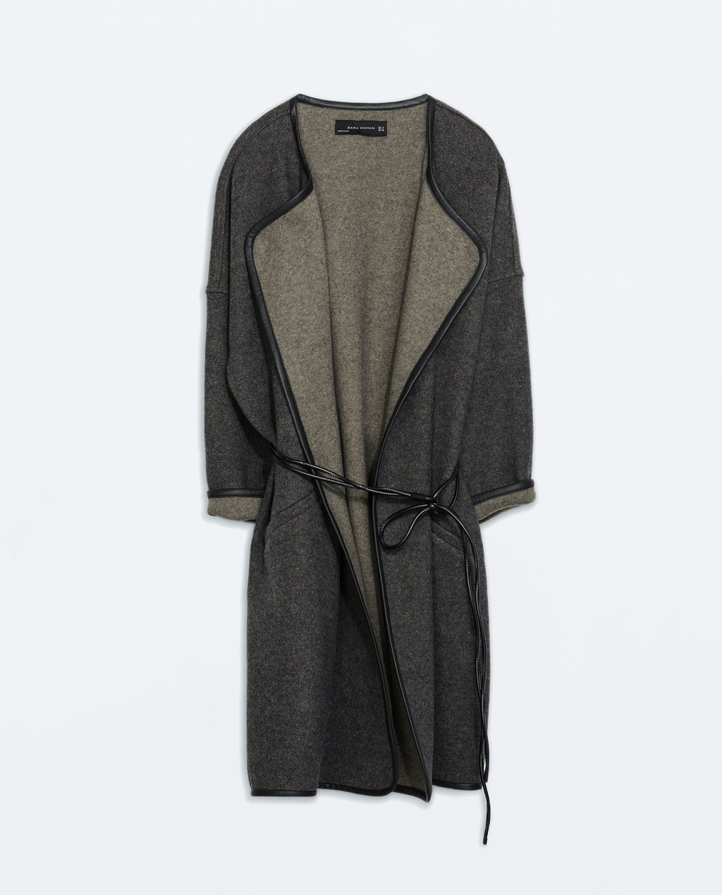 http://www.zara.com/uk/en/woman/outerwear/faux-leather-belted-coat-with-piping-c269183p1983622.html