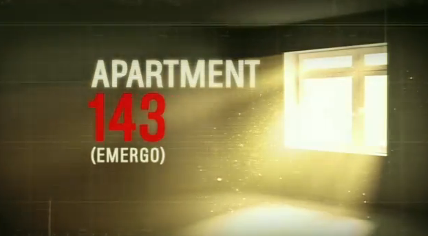 Apartment 143 (Emergo) 2012 mockumentay horror film title by magnet releasing originally a Spanish horror film