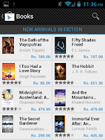 Google Play Books on Android