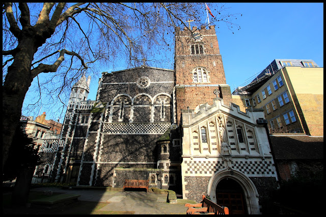 Haunted London, St Bartholomew The Great Church, Smithfield London.