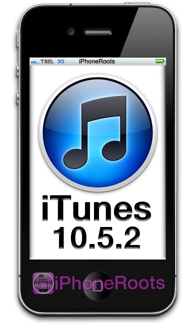 Itunes 10 5 2 has released by apple for windows and macosx