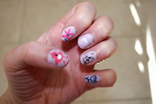 cosmatics easy nail art ideas for kids