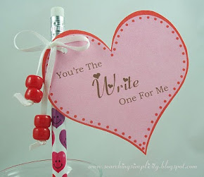 FREE Valentine&#39;s Tag Printable
