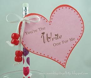 FREE Valentine's Tag Printable