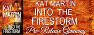 Into the Firestorm Pre-Release Giveaway