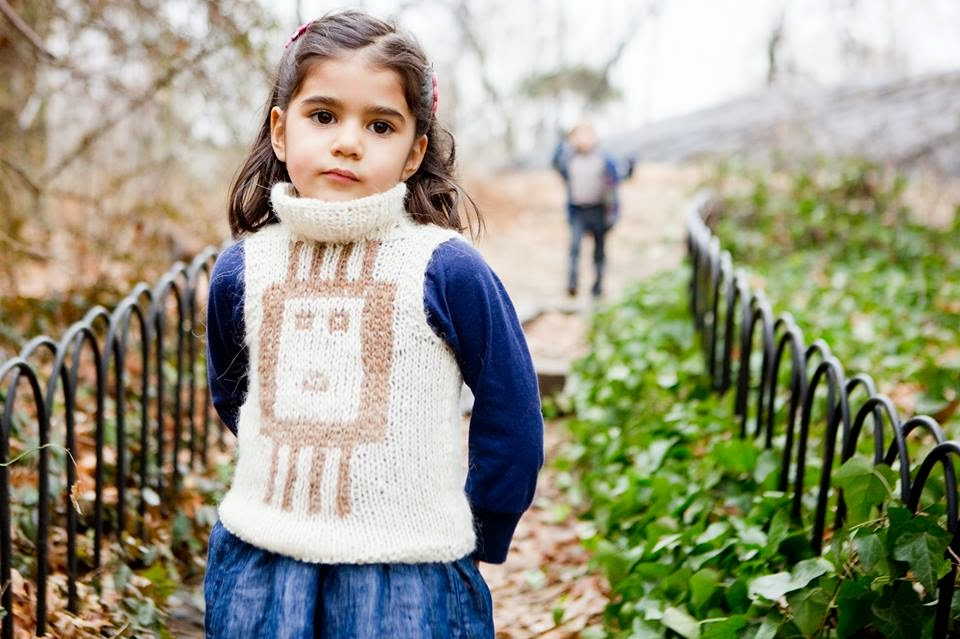 Knit vest by HBB Industria Argentina AW14/15 children's clothes collection