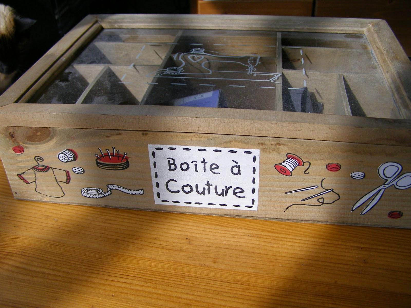 Le fil de saria avril 2014 for Boite a couture casa
