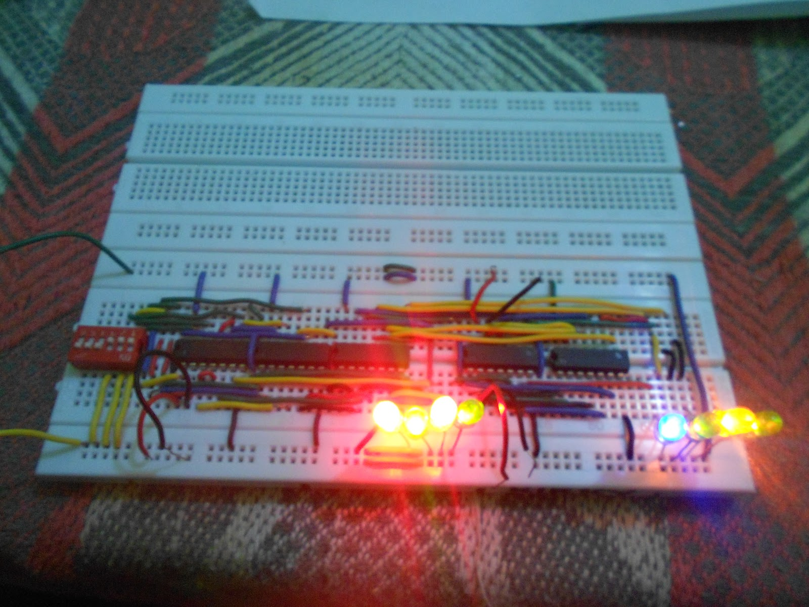 Ece Logic Circuit Full Adder Since We Have Our Combination Will Construct This N Breadboard To Obtain Experiment Just As Seen From The Pictures Below