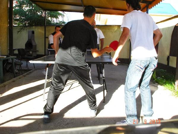 Ping-Pong la Craiova Blog Meet de Septembrie