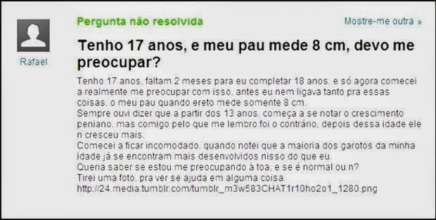 Pérolas yahoo respostas - Publicitário13