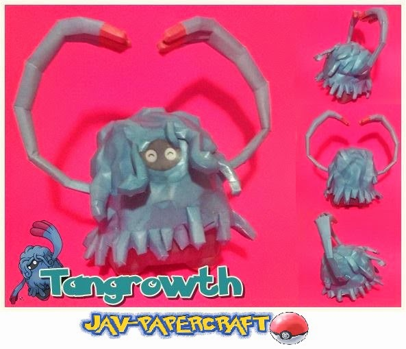 Pokemon Tangrowth Papercraft